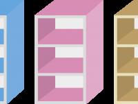 カラーボックスのイメージ